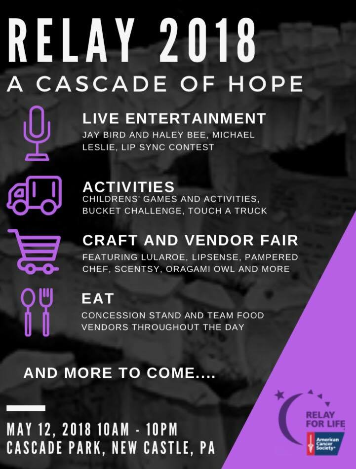 Relay for Life Cascade Park @ Cascade Park | New Castle | Pennsylvania | United States